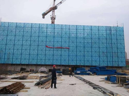 冲孔网在建筑行业上面的应用