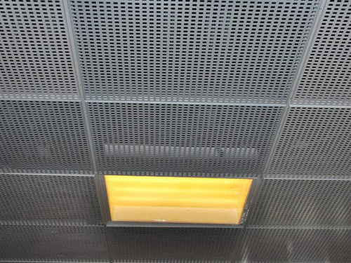 冲孔网在吊顶上的应用
